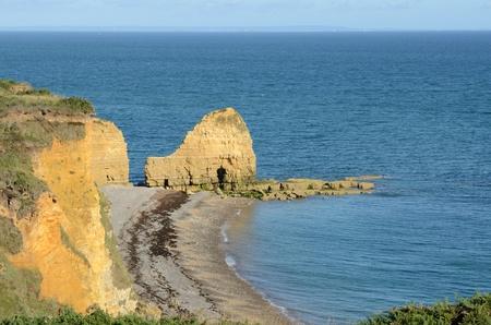 invasion: Pont du Hoc, Battlefield dans WW2 lors de l'invasion de la Normandie,