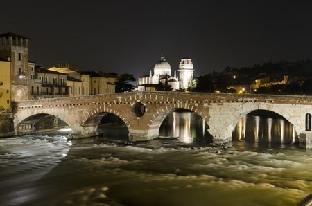 Verona is universally known as the city of romeo and juliet photo