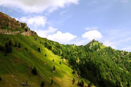 An alpine landscape in the region of Trentino, Italy Stock Photo - 12575586