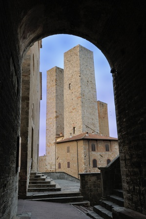 San Gimignano is a jewel of the tuscan medieval architecture
