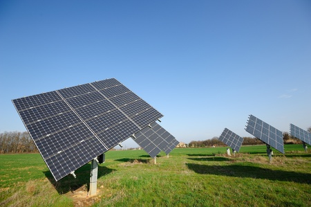 Thr cleanenergy will allow to reduce pollution Stock Photo - 13277789