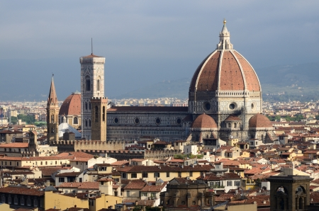 The cityscape of Florence, in Tuscany, one of the most famous in the world