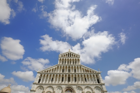Cathedral in campo dei miracoli in Pisa  Italy  photo