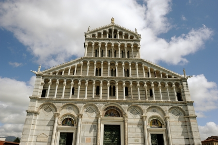 Cathedral in campo dei miracoli in Pisa  Italy Stock Photo - 13769505