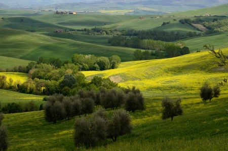 val dorcia: One of the most beautiful country landscape in Tuscany