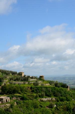 montalcino: Medieval town of Montalcino, Tuscany, Italy.