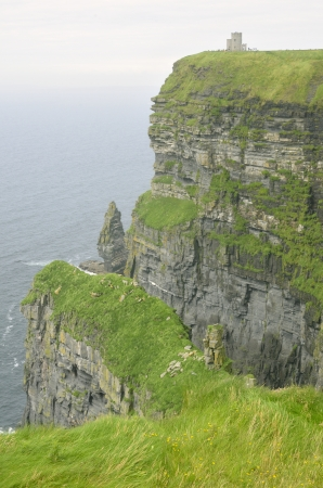 moher: Beautiful dusk landscape of Cliffs of Moher in summer, Ireland