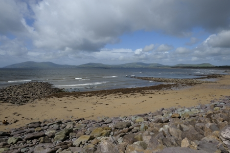 historically: Waterville, historically known as Coirean is a villagbeache in County Kerry  Ireland
