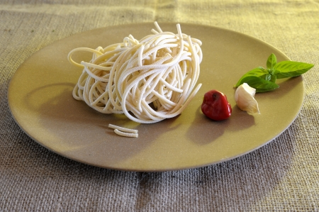A typycal dish of the italian cusine photo