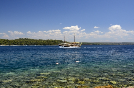 Isola Rossa � una delle pi� belle di tutto l'arcipelago Rovinji Editoriali