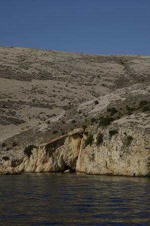 Croatia - beautiful Mediterranean coast landscape in Dalmatia