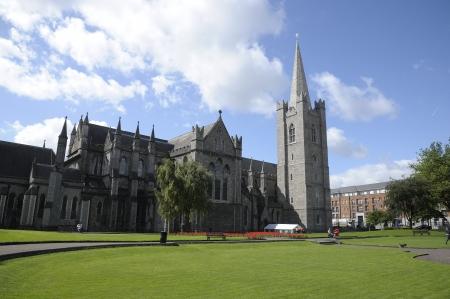 una scena presa nella bellissima capitale irlandese