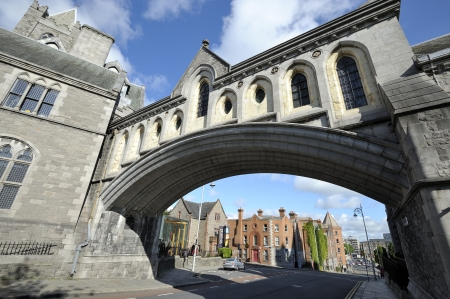 A beautiful scene in Dublin, the beautiful capital of Iteland photo