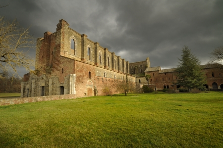 The ruins of San Galgano photo