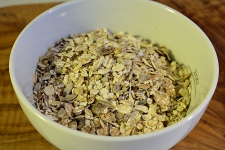 Some cereals ready for a healty breakfast Stock Photo - 18210992