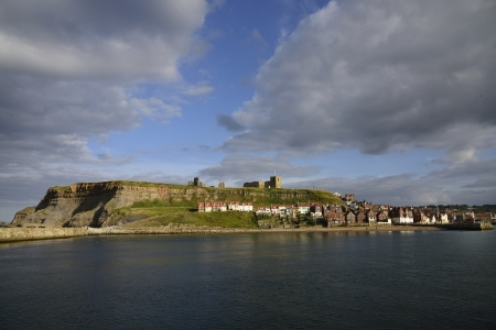 whitby: Whitby is a seaside town, port and civil parish in the Borough of Scarborough and English county of North Yorkshire