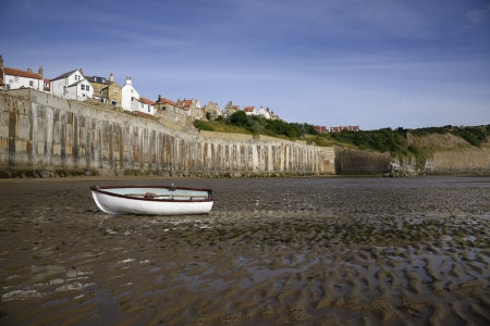 Robin Hoods Bay a small seaside village on the North Yorkshire Coast England