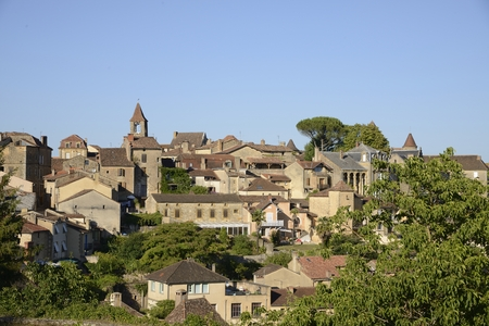France, the picturesque village of Belves in Dordogne Banco de Imagens