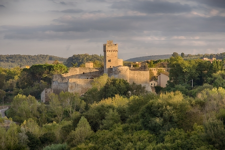 A beautiful medieval Castle in Staggia Senese, Tuscany