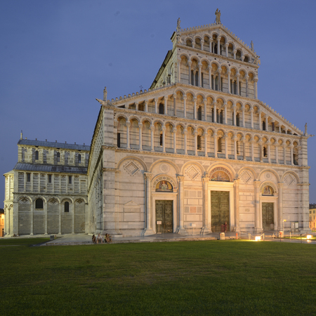 nocturnal: A nocturnal view of the Duomo in Pisa