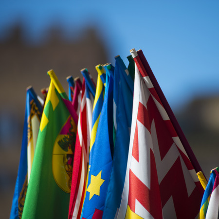 palio: The flags of the Palio