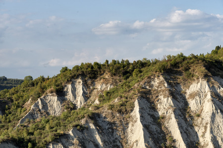 One of the most famous landscape in the hearth of tuscany called I Calanchi