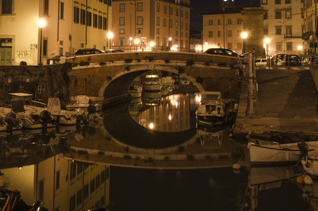 Venezia Nuova is a historical part of the tuscan city of Livorno