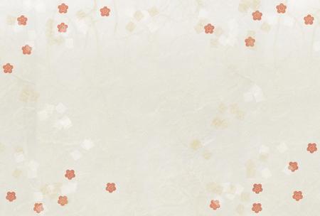 paper texture: Paper texture, plum flower