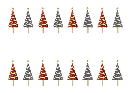 christmas backgrounds: Pattern, backgrounds, red and black Christmas tree