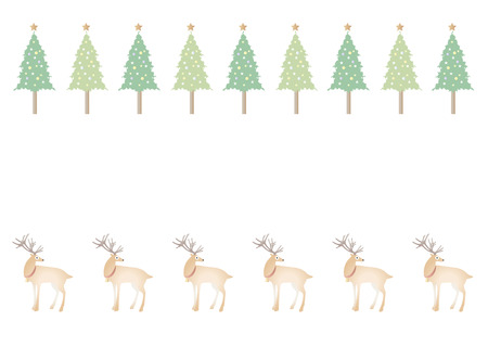 christmas backgrounds: Backgrounds, pattern, Christmas tree and reindeer