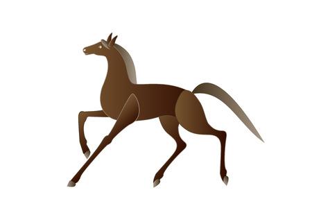 brown: Brown horse