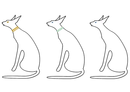 variations: White cat variations