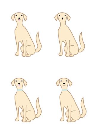 variations: Cute dog variations