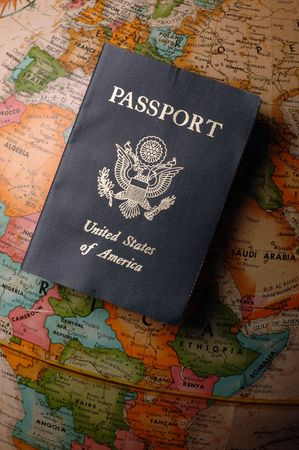 American Passport Stock Photo - 4160639