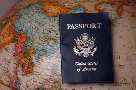 American Passport Stock fotó