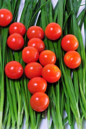 赤いチェリー トマト