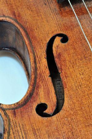 Antonius Stradivarius Violino Archivio Fotografico - 4222891