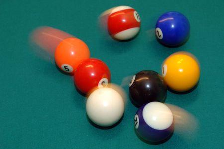 pool table Stok Fotoğraf