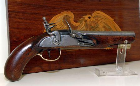 flintlock pistol: Flintlock Pistol