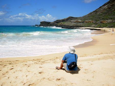 ハワイのビーチの楽園 写真素材 - 4330712