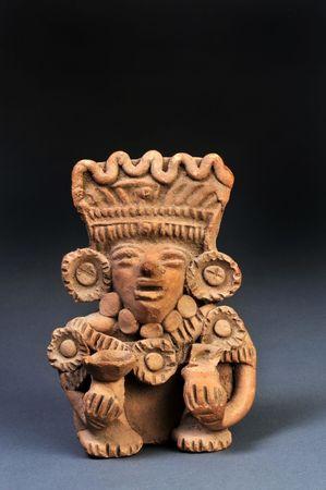 Precolumbiaans Zapoteeks Warrior 600AD