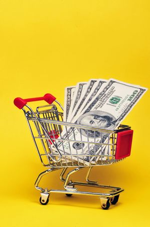 Money for shopping Stock Photo - 4976127