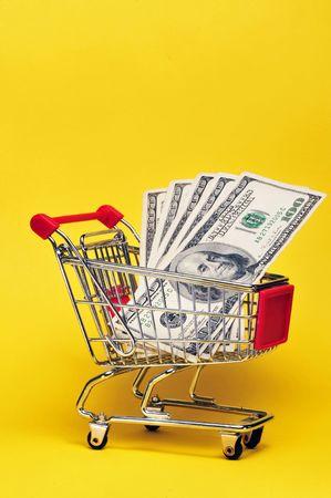 Money for shopping Stock Photo - 4976127
