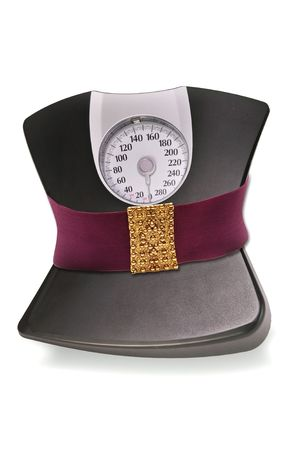 Shape up you weight Stock Photo - 5534458