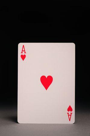 Ace of Hearts Stok Fotoğraf