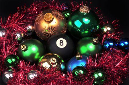 Christmas and the eight ball