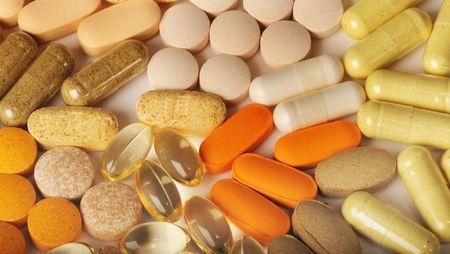 De nieuwe drugs van levende pills Stockfoto