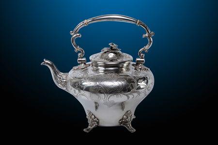 antique: Antique English Silver Teapot