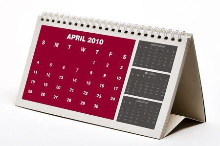 New April 2010 Calendar