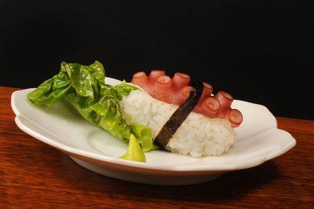 Sushi Octopus photo